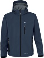 Trespass Mens Accelerator Hooded Full Zip Softshell Jacket (L)