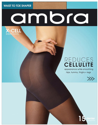 Ambra X-Cell Cellulite Reducing Pantyhose Beige