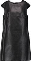 Marni Wool-blend lamé mini dress