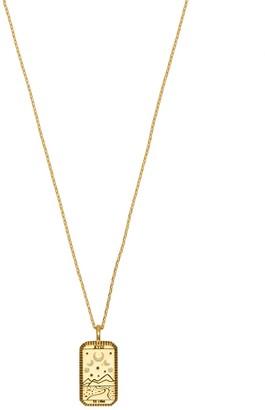 Wanderlust + Co La Luna Gold Necklace