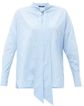 Max Mara Marus Shirt - Womens - Light Blue