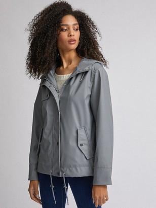 Dorothy Perkins Short Raincoat- Grey