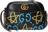 Gucci GG Marmont GucciGhost shoulder bag - women - Leather/metal/Microfibre - One Size
