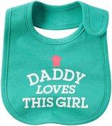 Carter's Interlock Teether Bib - Daddy Loves This Girl