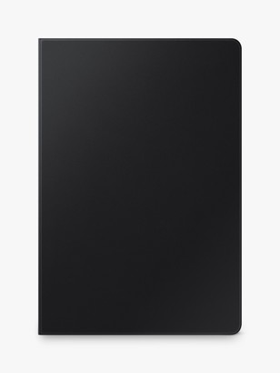 Samsung Galaxy Tab S7+ Tablet Book Cover, Black