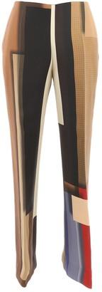 Fendi Brown Wool Trousers