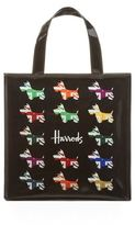 Harrods Small Union Jack Westie Shopper Bag