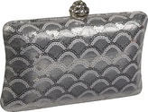 J. Furmani Silver clutch