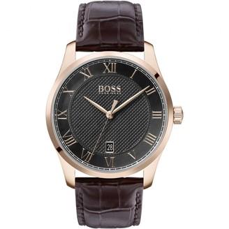 HUGO BOSS 1513740 Master Watch Brown