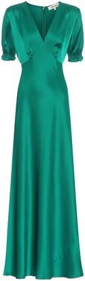 Diane von Furstenberg Idris satin gown