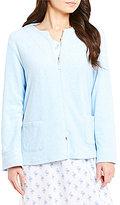 Miss Elaine Luxe Fleece Bed Jacket