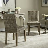 Beachcrest Home Willow Side Chair in Natural Unfinished