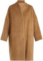 Brunello Cucinelli Single-breasted alpaca coat