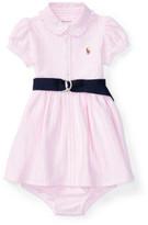 Polo Ralph Lauren Knit Oxford Dress & Bloomer (0-24 Months)