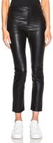 Etoile Isabel Marant Jeffrey Eco Leather Pants in Black.