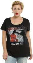 Hot Topic Metallica Kill 'Em All Girls T-Shirt Plus
