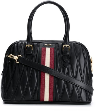 Bally Quilted Tote Bag