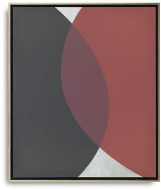 """3.1 Phillip Lim Connecting Spheres with Silver Art, 26"""" x"""