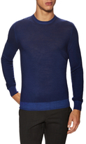 Z Zegna Wool Solid Crewneck Sweater