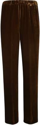 Aspesi Elastic Ribbed Waist Straight Leg Trousers