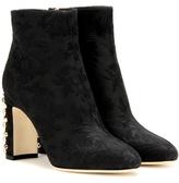 Dolce & Gabbana Bottines En Jacquard