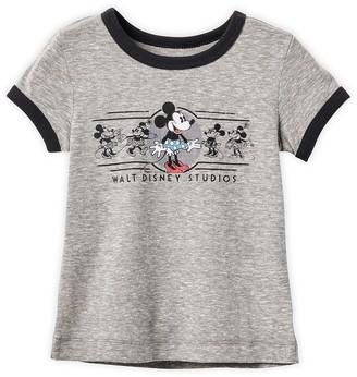Disney Minnie Mouse Ringer T-Shirt for Girls Walt Studios