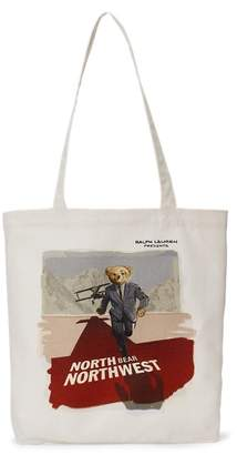 Ralph Lauren Polo Bear Film Canvas Tote Bag