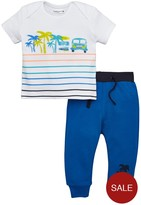Ladybird Baby Boys Camper Van Tee And Jogger Set