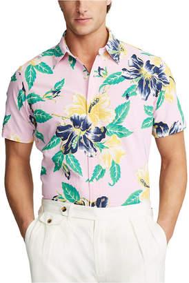 Polo Ralph Lauren Men Classic Fit Hawaiian Oxford Shirt