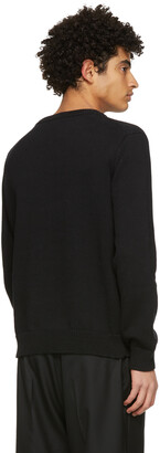 Casablanca Black Intarsia Knit Kapalia Oranges Sweater