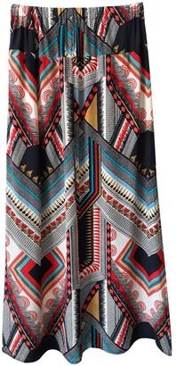 Tolani Multicolour Silk Skirt for Women