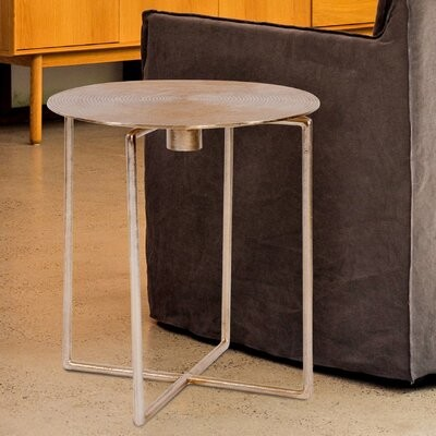 Thumbnail for your product : World Menagerie Liptak Spiral Top End Table