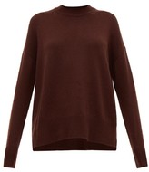 Jil Sander Dropped-sleeve Cashmere Sweater - Womens - Brown