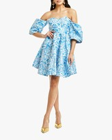 Mestiza Poco Poof Mini Dress