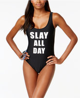 California Waves Slay All Day One-Piece Swimsuit