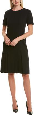 Lafayette 148 New York Jannie Wool A-Line Dress