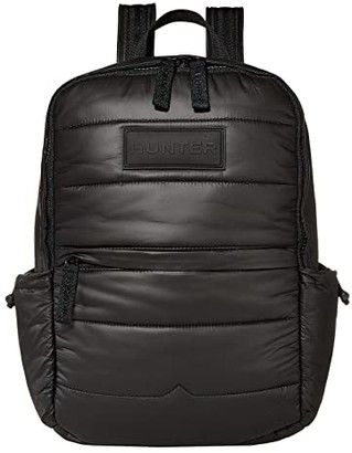 Hunter Puffer Backpack (Black) Backpack Bags