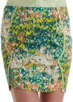 O'2nd Floral Mini Skirt