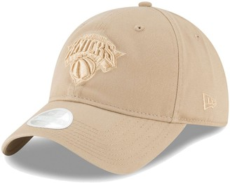 New Era Women's Tan New York Knicks Core Classic 9TWENTY Adjustable Hat