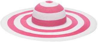 Eugenia Kim Sunny Two-Tone Striped Wide Brim Sun Hat