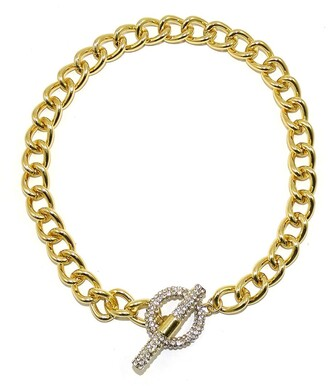 Savvy Cie CZ Cuban Link Necklace