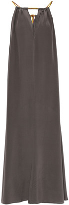 Eres Ornella Silk Crepe De Chine Maxi Dress