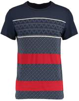 Pier 1 Imports Print Tshirt dark blue
