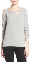 Chaser Women's Deconstructed Sweatshirt
