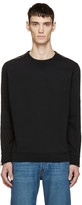 Diesel Black Zipper S-MART Sweatshirt