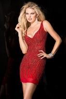 Scala 48608 Dress In Red