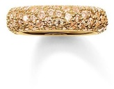 Thomas Sabo Crushed Pave Gold Plated Ring TR2030-414-3