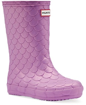Hunter Baby's, Little Girl's & Girl's First Classic Sea Dragon Rain Boots