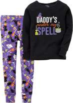 Carter's Baby Girls Spell Halloween Pajama Set