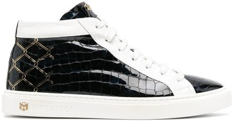 Hide&Jack x Mesut Ozil The Cage leather sneakers